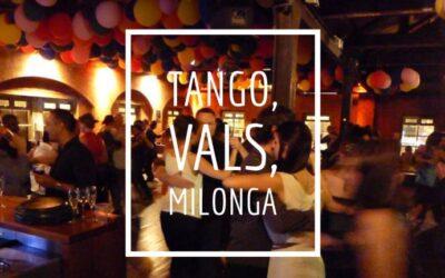 Tango, Tango, Vals, Tango, Tango Milonga